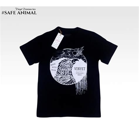 Kaos Oblong Distro Nmax 1 kaos oblong kaos distro kaos premium vinyettees save animal 1 elevenia