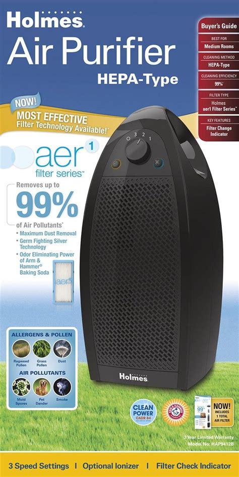 amazoncom holmes hapb ua small room hepa type air purifier home kitchen