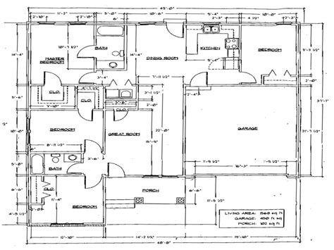Floor Plan Dimensions | house floor plans with dimensions