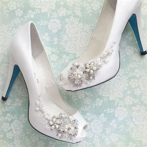 Wedding Shoes Something Blue by Something Blue Wedding Shoes With Blossom 2242770