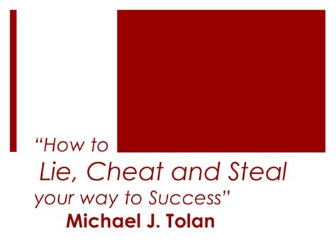 how to your to lie how to lie and your way to success