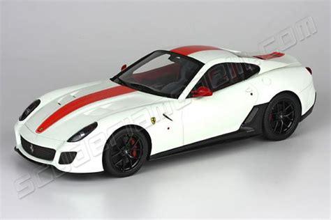 Shp Cars Sjr 600 White bbr models 2010 599 gto white avus
