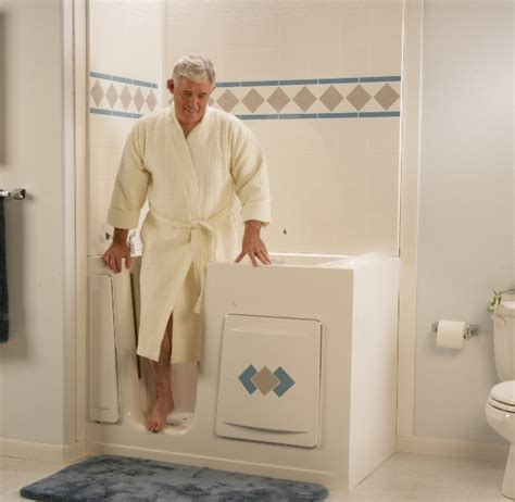 bathtub for the elderly walk in bathtubs with shower nrc bathroom