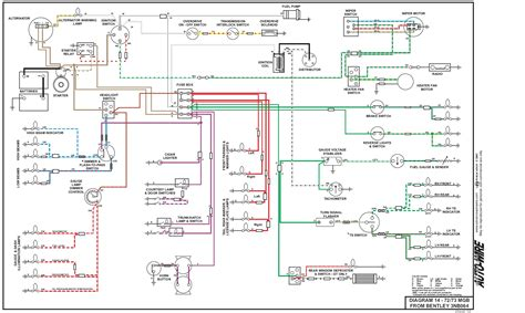 vehicle electrical diagram wiring diagram with description