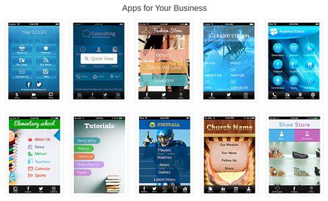 design app builder make your free app with ibuildapp similar to ibuildapp
