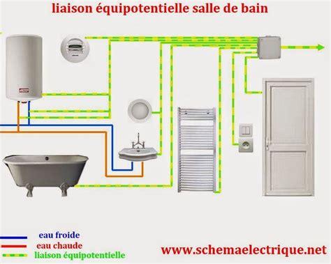 Norme Securite Electrique Salle De Bain by Volume Salle De Bain Schema Electrique Salle De Bain Norme