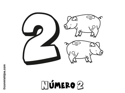 dibujo con el n mero 8 para pintar dibujos de n meros n 250 mero 2 dibujos para colorear