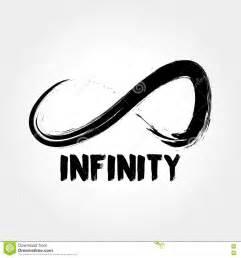 Company Infinity Infinity Symbol Logo Concept Stock Vector