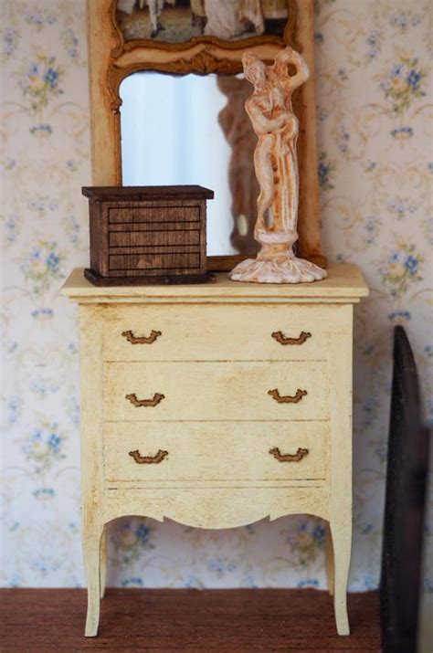 scale miniature dollhouse furniture kit large french