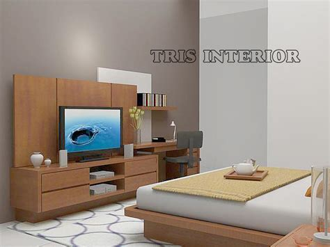 Meja Workshop setting interior kamar tidur bedroom workshop maharumi
