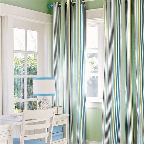 Blue And Green Curtains The Combination Of Blue And Green For Every Room Interior Design Ideas And Architecture