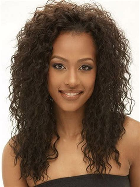 Wavy Weave Hairstyles by Curly Weave Hairstyles