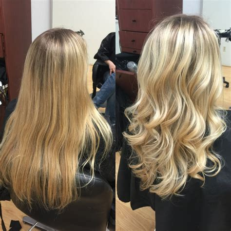 blonde highlights with ash base natural light ash blonde base with foil highlights to