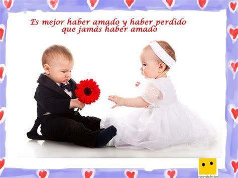 imagenes de bebes con frases de amor cristianas imagenes con frases de beb 233 s enamorados imagui