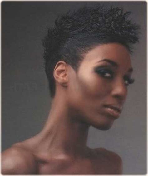 black women with short blonde mohawks mohawk short hairstyles for black women short hairstyles