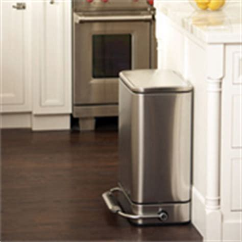 trash cans free standing built in cabinet pull