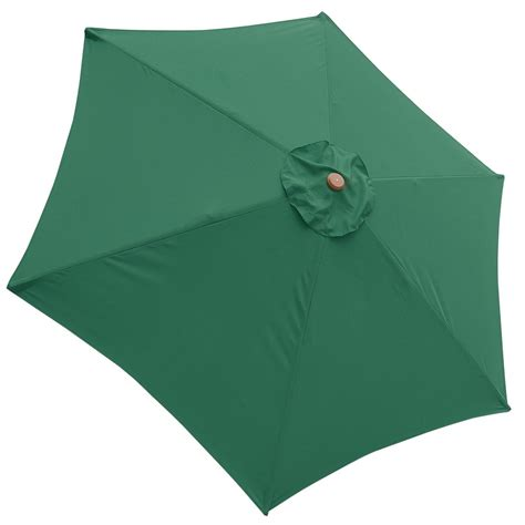 Patio Umbrella Canopy 9ft Patio Umbrella Replacement Canopy 6 Rib Outdoor Market Garden Cover Top Opt Ebay
