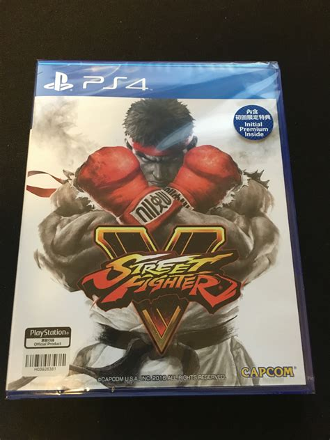 Bd Ps4 Fighter5 Spesial Shoryuken Edition ps4 fighter v special shoryuken edition hong