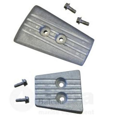 aluminium boot kit aluminium anode kit navalloy volvo sx a dps volvo