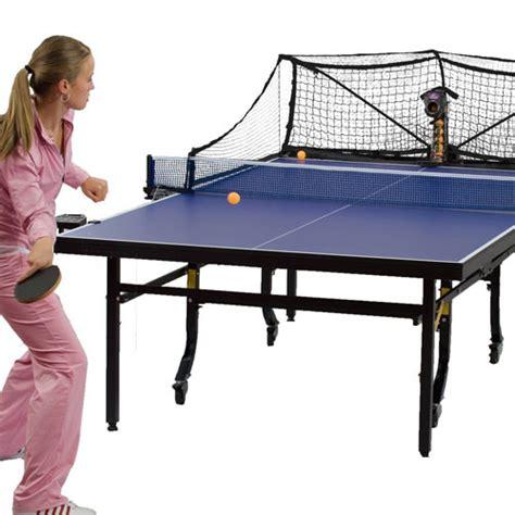 robo pong 2050 table tennis robot robotic gizmos