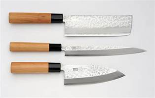 types of japanese kitchen knives unsui japanese traditional 3 knife set nakiri