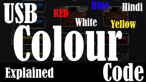 usb color code usb color code usb cable color code usb
