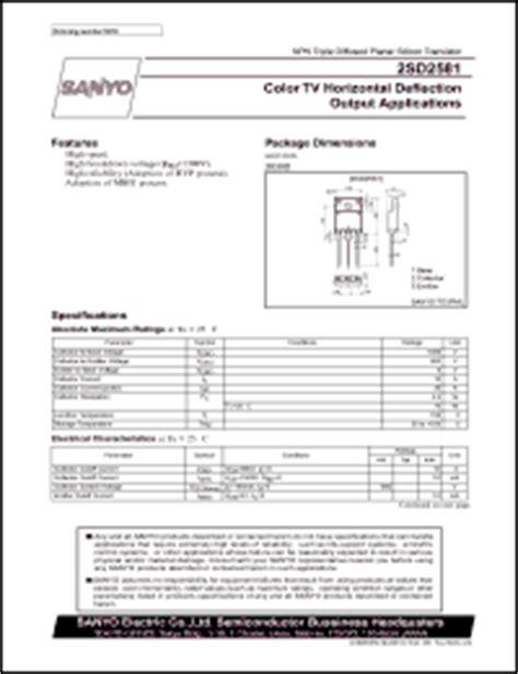 transistor horizontal c5250 datasheet transistor horisontal 28 images yoreparo solucionado reemplazo transistor