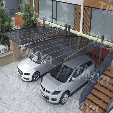 2015 yang modern carport desain kanopi atap Garasi, kanopi