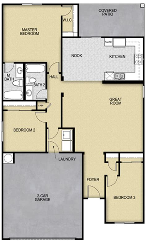 Lgi Homes Floor Plans by Lgi Homes Ajo Floor Plan