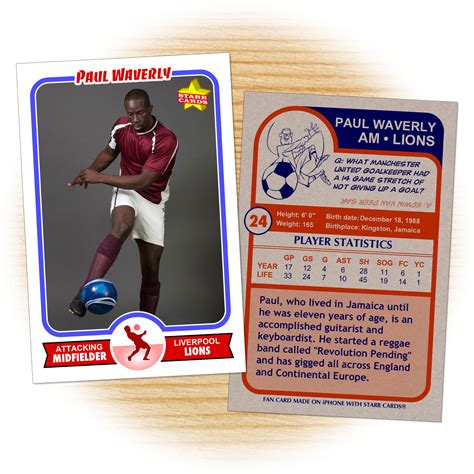 soccer trading card template custom soccer cards retro 75 series cards