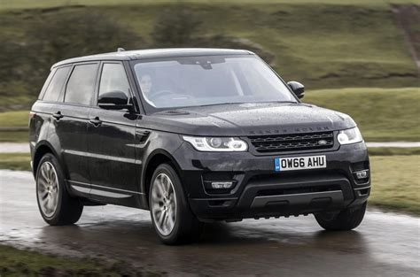 land rover sports car range rover sport review 2017 autocar