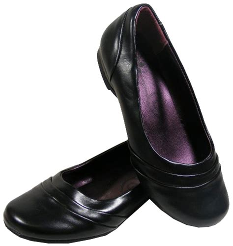 new black ballerinas flats work office