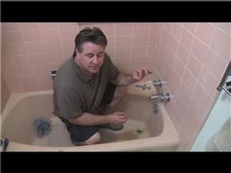 patching a bathtub bathroom fix it tips how to repair a leaking bathtub