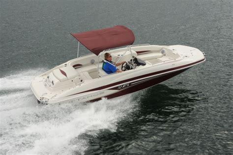ski boat vs tritoon tahoe 215 xi pontoon deck boat magazine