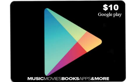 10 Google Play Gift Card - google play gift card 10 usa instant online code