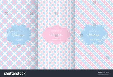 seamless baby patterns stock vector 417195394 shutterstock baby pastel different vector seamless patterns stock