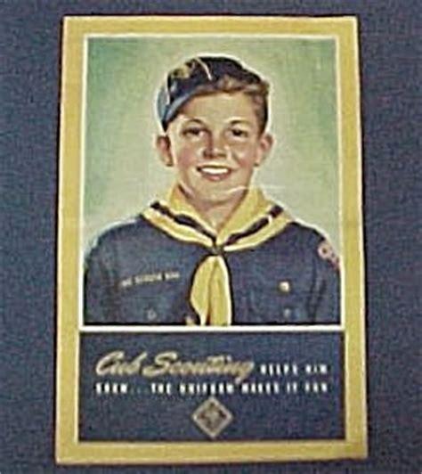 boy scout hiking merit badge bk necktie box uniform flr