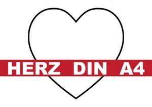 Vorlage Word Herz Herz Din A4 Vorlage Convictorius