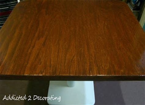 Plywood Table Top With Iron On Edge Banding