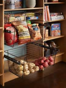Kitchen Pantry Storage Baskets Organization And Design Ideas For Storage In The Kitchen