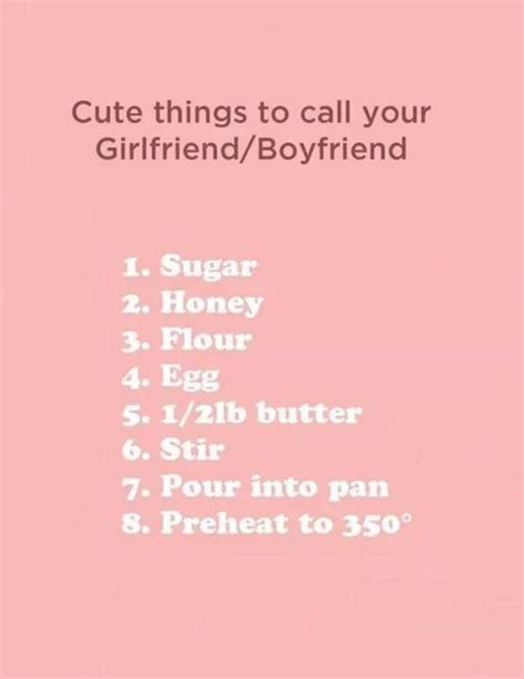 Or For Boyfriend 1000 Ideas About Nicknames For Boyfriends On Posts Comments