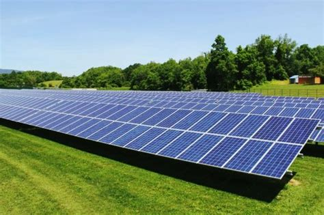 Solar Garden by Solar Energy News Virginia S Community Solar Garden Goes