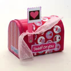 valentines day mailbox s day mailbox mail box cupcakes by kotibeth on etsy