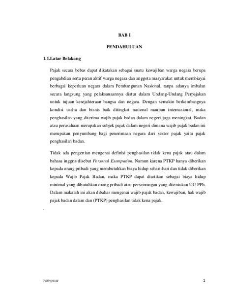 membuat latar belakang suatu makalah makalah ptkp1