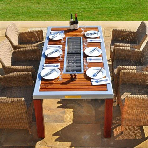 Patio Table Grill 25 Best Ideas About Bbq Table On Picnic Table With Umbrella Table Top Bbq And Pool