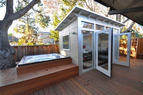 upscale sheds transforming backyards entertainment