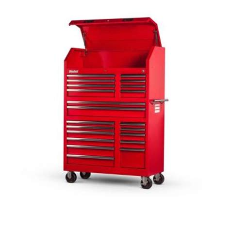 homak 20 in 3 drawer tool box red rd01032101 the home