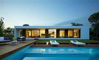 Villa Home World Of Architecture Modern Villa Indigo Catalonia Spain