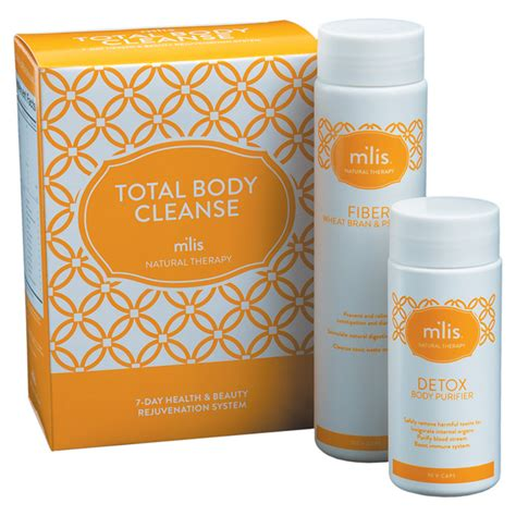 Detox With Mlis by M Lis Total Cleanse Kit Wellness Products