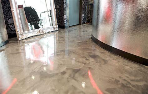 metallic floors diy crafts